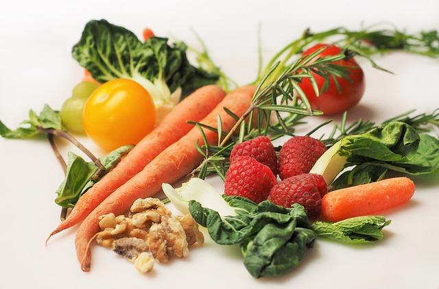 pytonutriments couleurs vives légumes et fruits