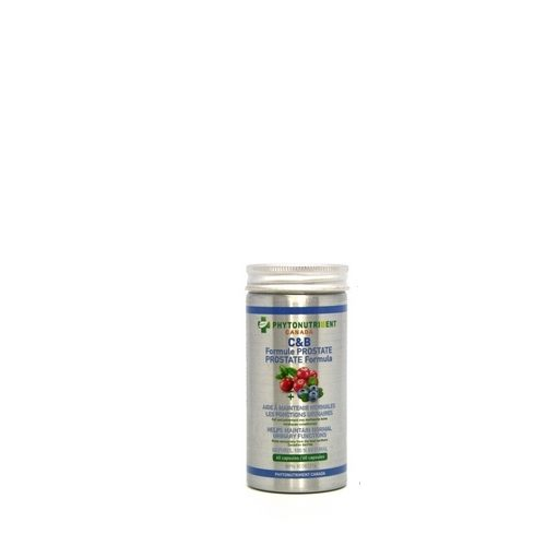 C&B Formule Prostate capsules - De Phytonutriment Canada