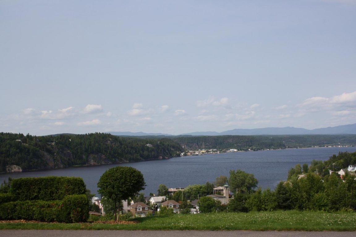 Vue sur le Saguenay